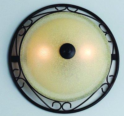 Woonlicht ronde wandlamp in landelijke stijl