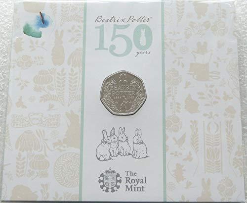 Royal Mint Beatrix Potter Centenary 50p Pack