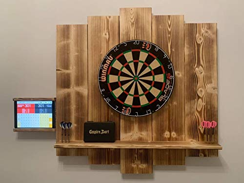 WDS Darts Sports Holz Surround, Burned - 5