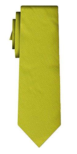 Cravate unie solid apple, textured