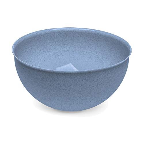 Koziol Schüssel Palsby L, Schale, Schälchen, Bowl, Thermoplastischer Kunststoff, Organic Blue, 5 L, 3807671