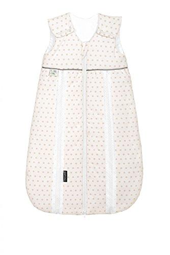 Odenwälder Jersey-sac de couchage Basic étoiles argent 90 taille