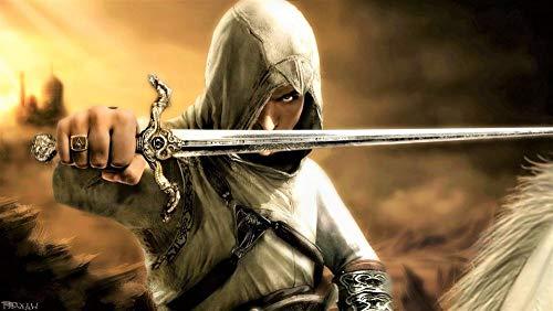 GUANGMANG Posters De Películas De Assassin'S Creed: Póster De Película-I Rompecabezas Tabletas Adultos Juego Juguete Pzas Puzzle Impossible Departamento Decoracion Niño 1000 Pieza