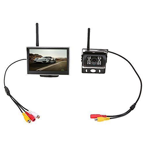 Great Deal! WinnerEco Universal 5 Inch TFT WiFi LCD Display Car Monitor Rear View Backup Reverse