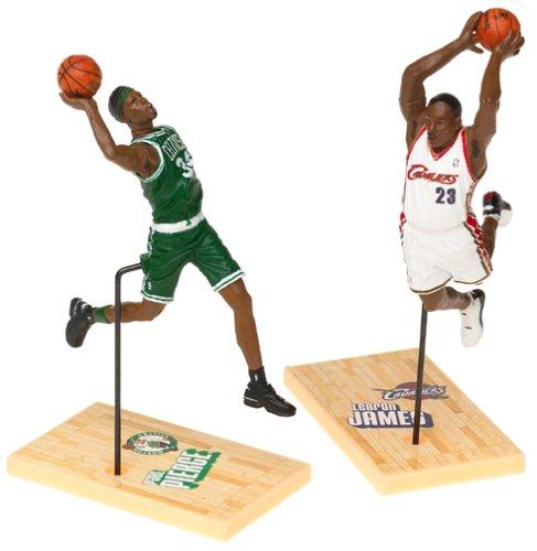 McFarlane Toys NBA 3 Inch Sports Picks Series 1 Mini Figures 2-Pack Lebron James & Paul Pierce