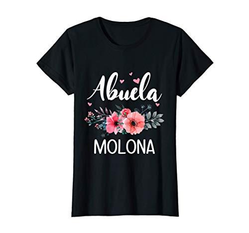 Mujer Abuela Molona, Regalo Original Para Abuelas Camiseta