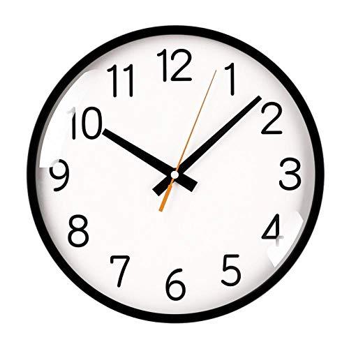 HPPSLT Sala de Estar Reloj de Moda para el hogar Simple nórdico Creativo Moderno Ligero Reloj silencioso de Lujo-2