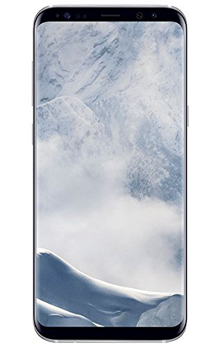 """Samsung Galaxy S8 Plus - Smartphone libre Android (6.2"""", 4 GB RAM, 4G, 12 MP), Plata, -  [Versión Alemana: no incluye Samsung Pay ni acceso a promociones Samsung members]"""
