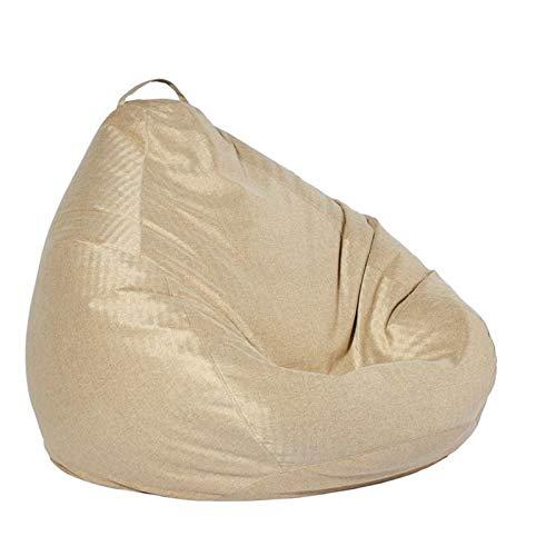 NINAINAI Bolsas de Frijoles de decoración del hogar Silla de Bolso de Frijol Grande Duradero Sofá sofá Tumbona High Back Bean Bag Silla for Adultos niños. Accesorios para el hogar en Interiores