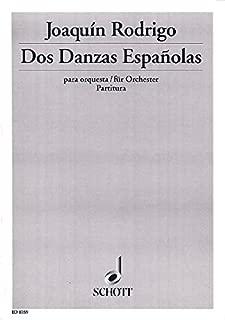 Dos Danzas Españolas - (Suite para castañuelas y orquesta) - orchestre - Partition - ED 8359