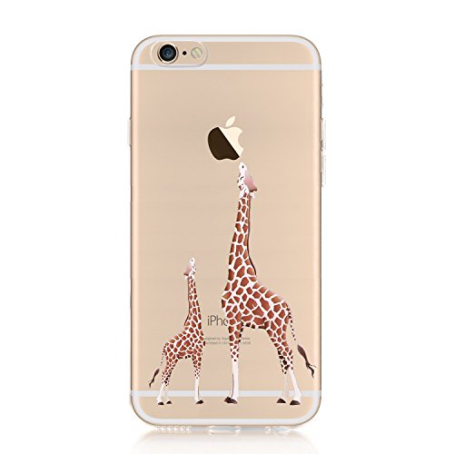 iPhone 6S Hülle, iPhone 6 Silikon Hülle, CrazyLemon Bunt Niedlich Muster Bumper Case TPU Schutzhülle Silikon Hülle Flexibel Gel Hülle Schlank Handyhülle für iPhone6S / 6 - 01
