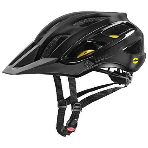 Uvex Unisex– Erwachsene, unbound Fahrradhelm, all black mat, 58-62 cm