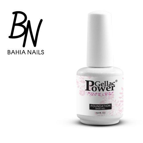 Bahia Nails - Power Gellac Tenue Parfaite? Vernis à Ongles UV Ou LED Semi Permanent 15 ml. 100001