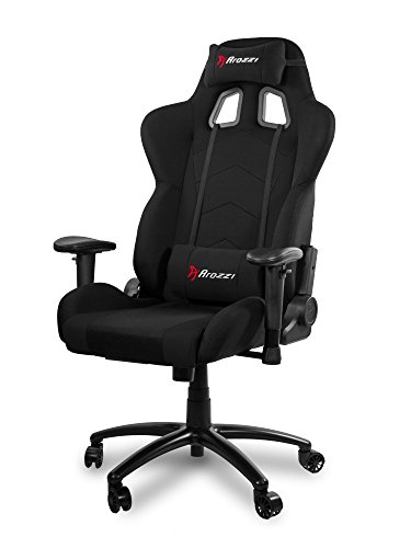 Arozzi Inizio Ergonomic Fabric Gaming Chair with High Back, Rocking & Recline Function - PC; Mac; Linu