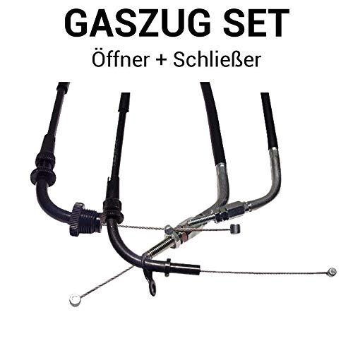 Gaszug Set Öffner + Schließer für Suzuki GSF 1200 (S,SZ) Bandit