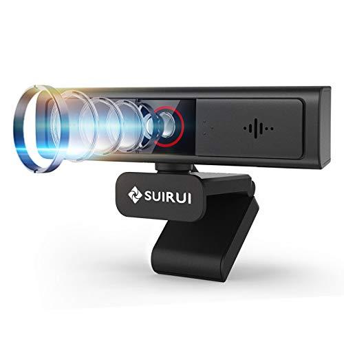 Suirui 1080p Webcam with Microphone $17.99