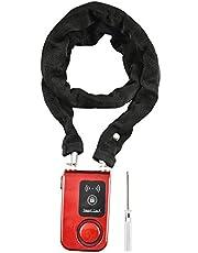 Bluetooth Smart Fietsslot, Smartphone Controle Waterdichte Ketting Lock, 110dB Hoge Decibel Trillingsalarm Anti Diefstal Bike Lock