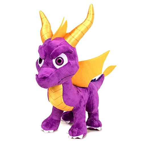 Play by Play - Spyro The Dragon Drache Plüsch Stehend Original Offizielles Videospiel Activision - Multicolor - 35cm