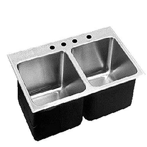 ... 18-Gauge T-304 Stainless Steel Commercial Grade Drop In Kitchen Sink