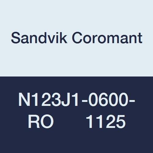 Sandvik Coromant N123J1-0600-RO Max 52% OFF 1125 1 year warranty CoroCut for 1-2 Pr Insert