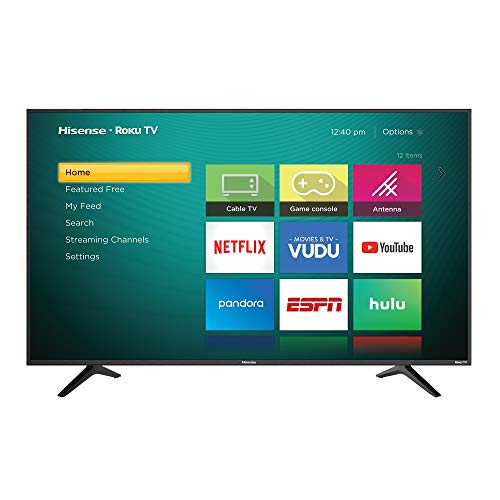 Hisense Smart TV 65' 4K UHD R6E (Renewed)