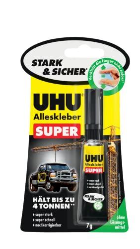 Uhu Alleskleber 46960 Super, Stark & Sicher, 1 x 7g