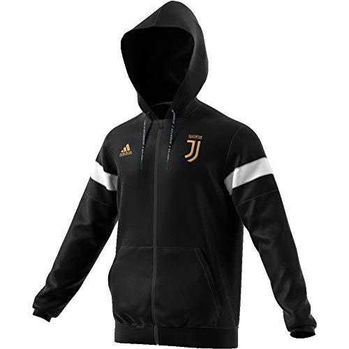 adidas Herren Juventus Kapuzenjacke L schwarz