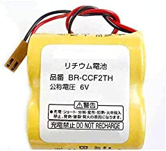 BR-CCF2TH Replacement for Panasonic BR-CCF2TH PLC Battery 6V 5000mAh