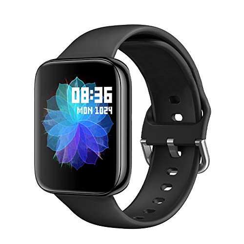 Smart Watch for Men Women IP67 Waterproof - Fitness Tracker Heart Rate Monitor Sport Digital Watch - Smartwatch for Android Phones and iOS Phones Compatible with iPhone Samsung
