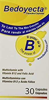 Bedoyecta Multivitamin Contains Iron Folic Acid Vitamin C B1 B2 B9 and B12 30 Count