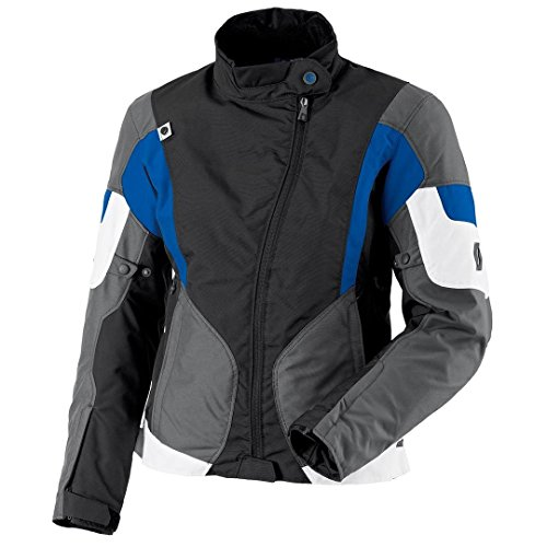 Scott Technit DP Damen Motorrad Jacke schwarz/blau 2016: Größe: 38
