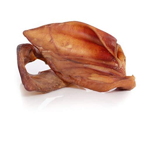 Grobys Schweineohren 1 A Premium Qualität aus Deutschland, Verpackungseinheit Stück:50 Stück