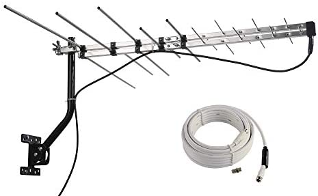 McDuory TV Outdoor Yagi Antenna with Long Range Reception Capacity Digital TV Antenna Available product image