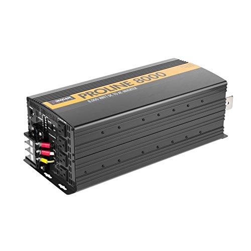 Wagan EL3746 12V 8000 Watt Power Inverter with Remote Control, 16000 Watt Surge Peak, Proline 12 Volt Power Converter for Home RV Camping Van Life Off Grid