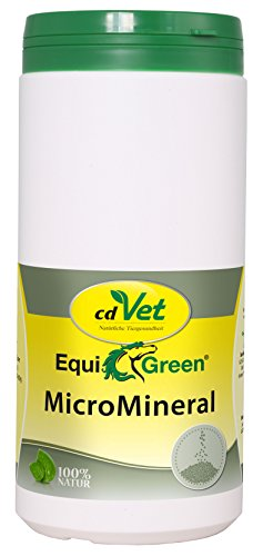 cdVet Naturprodukte EquiGreen MicroMineral 1 kg - Horse - micronutrient supply - vitamin, mineral and trace element donor - growth - metabolic problems - hoof problems - detoxification -