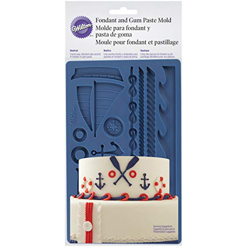 Wilton Nautical Fondant and Gum Paste Mold - Cake Decorating Supplies