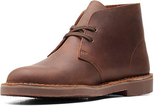 Clarks Bushacre 3 Dark Brown Leather 10.5 D (M)
