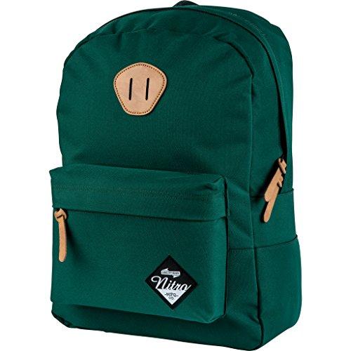 Nitro Urban Classic, Old School Daypack mit gepolstertem Laptopfach, urbaner Streetpack, Alltagsrucksack, Schulrucksack, Schoolbag, 20 L, Ponderosa