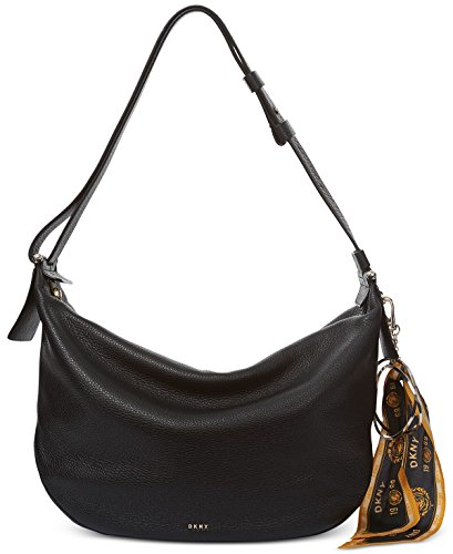 DKNY Large Hobo with Scarf Keychain