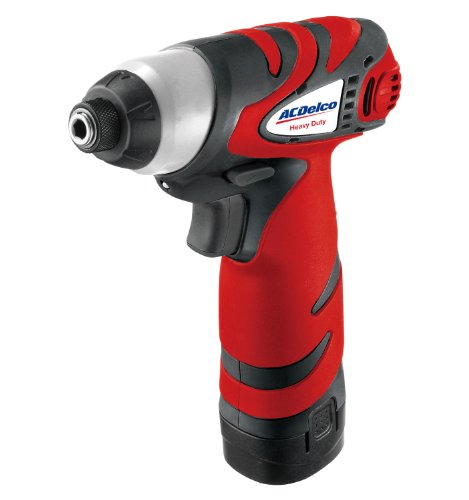 ACDelco ARI809 Li-ion 8V Impact Driver, 67 ft-lbs, 2 battery included