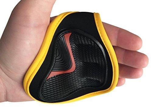 Muscle Composition Mejor agarre en el mercado. Guantes de gimnasio alternativos. Almohadillas de agarre para entrenamiento, crossfitness, levantamiento de pesas, levantamiento de potencia.