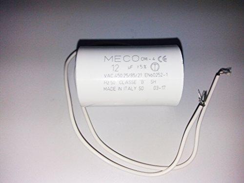 Kit reparación piscinas; Condensador eléctrico de interior arranque motor bomba monofásica 12 Microfaradios