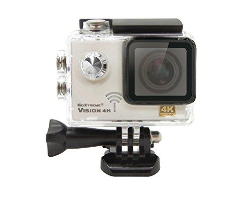 GoXtreme 20129 Vision 4K UltraHD Action Kamera (5 cm (2 Zoll), 12, 4 Megapixel) Silber
