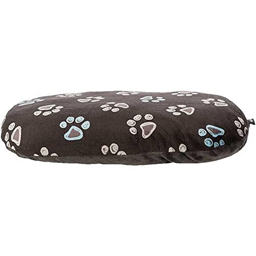 Hundekissen 110x70cm über 10 cm dick kuscheliges Hundekissen mit leicht glänzendem Plüschbezug Mit Reißverschluss Bezug waschbar 30°C ideal auch für Weidenkörbe oder Kunststoffkorb