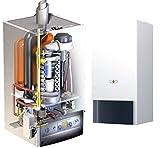 Wolf Caldaia CGB-50 Scaldabagno a Gas Efficienza Pompa Termico Gas Liquefatto 50kW