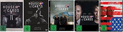 House of Cards Staffel 1-5 (1+2+3+4+5) / DVD Set