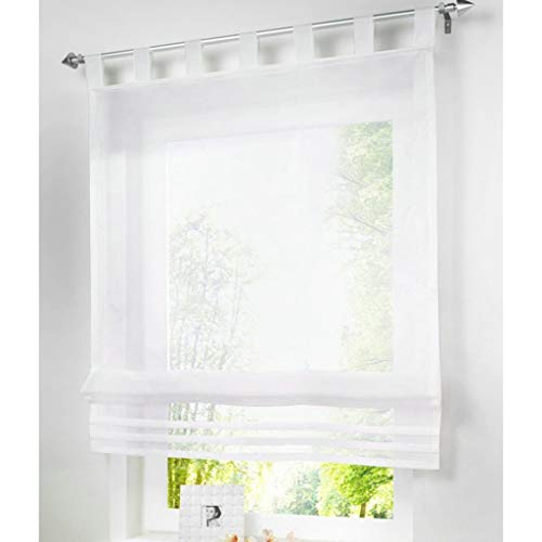 cortinas de baño con trabillas