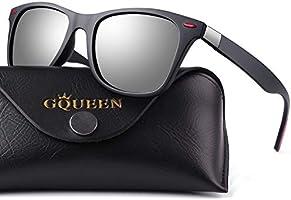 GQUEEN Occhiali da Sole Stile con Lenti Polarizzate GQF0