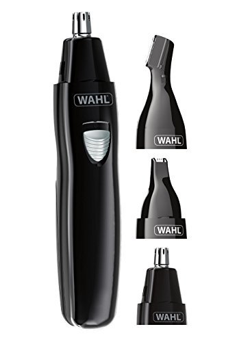 Wahl Nose Hair Trimmer for Men and Women 3-in-1 Ear and Eyebrow Trimmer,...