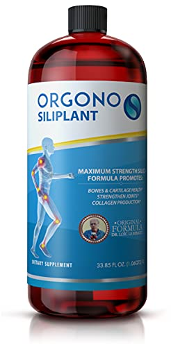 Orgono Siliplant | Vegan Collagen Booster | Supports Healthy Collagen and Elastin Production for Joint & Bone Support, Glowing Skin, Strong Hair & Nails.